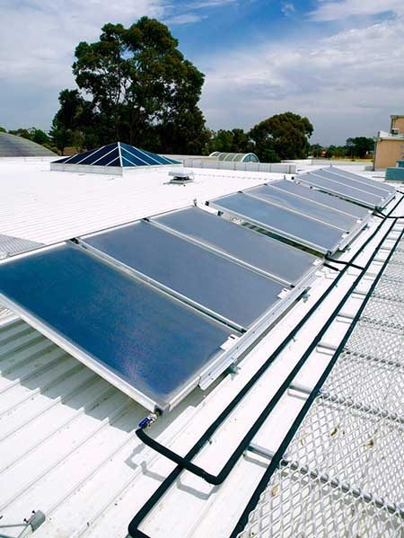 Rinnai Commercial Pre-heat Solar Hot Water System