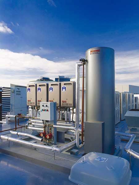 Rinnai Demand Duo Commercial Hot Water System