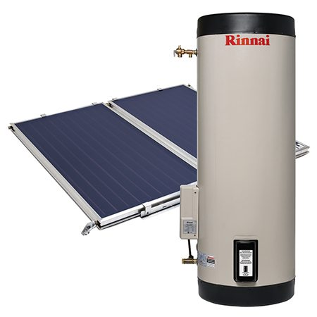Rinnai Prestige Split System with Electric Boost