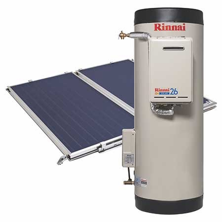Rinnai Prestige Split System with Gas Boost