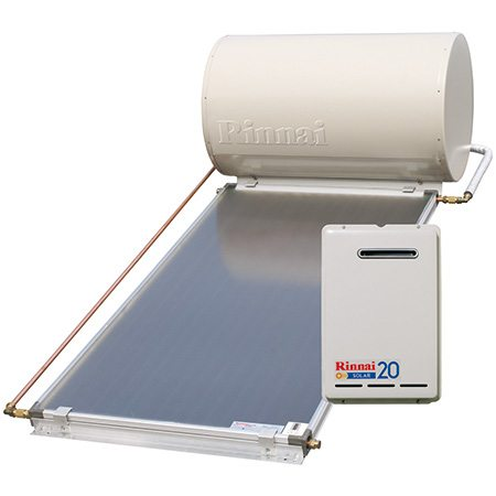 Rinnai Sunmaster Close-coupled System with Gas Boost