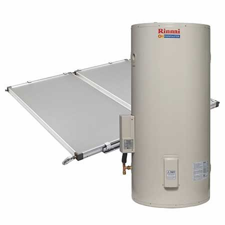 Rinnai Sunmaster Split System with Electric Boost