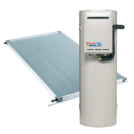 Rinnai Sunmaster Split System with Gas Boost