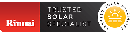 Rinnai Trusted Solar Specialist in Melbourne